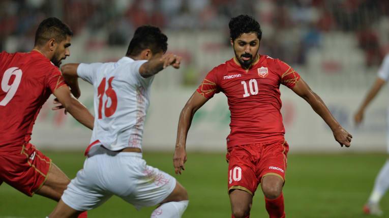 Bahrain bất ngờ đánh bại Iran trên sân nhà. Ảnh: Liên đoàn bóng đá Bahrain.