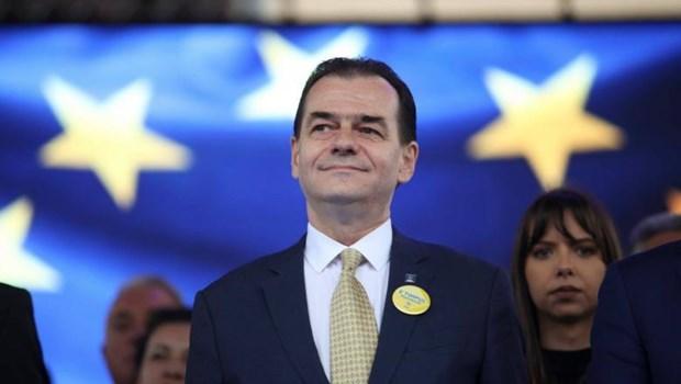 Lãnh đạo Đảng Tự do Dân tộc (PNL) Ludovic Orban.