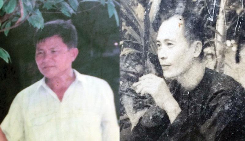 Đồng chí Phạm Văn Trừ - Sáu Bình và đồng chí Võ Văn Phụ - Mười Sinh.