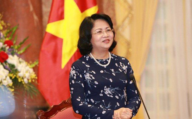 Phó chủ tịch nước Đặng Thị Ngọc Thịnh.