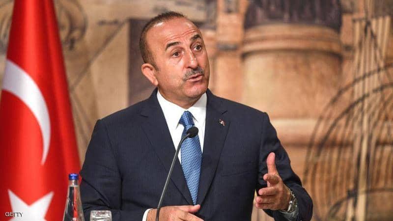 Bộ Trưởng Ngoại giao Thổ Nhĩ Kỳ tuyên bố ngừng bắn ở Syria. Ảnh: Getty