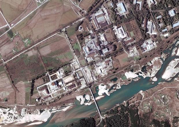 Một cơ sở hạt nhân của Triều Tiên. (Nguồn: EPA/TTXVN)