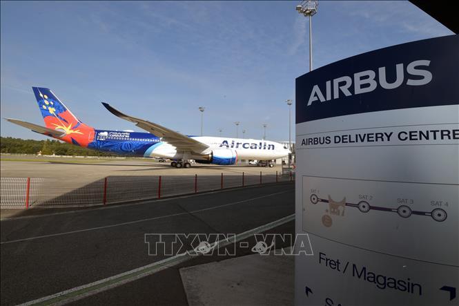 Trung tâm chuyển giao máy bay Airbus ở Colomiers, miền Tây Nam Pháp ngày 27-9-2019. Ảnh: AFP/TTXVN