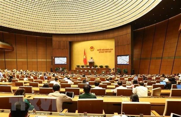 Một phiên họp của Quốc hội. Nguồn: TTXVN
