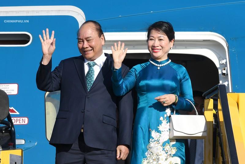 Thủ tướng Nguyễn Xuân Phúc và Phu nhân. Ảnh: Chinhphu.vn.