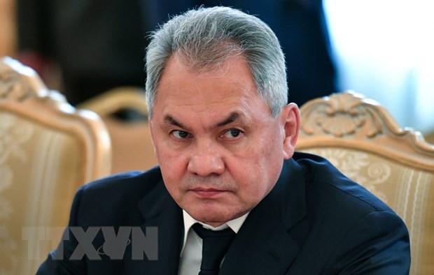Bộ trưởng Quốc phòng Nga Sergei Shoigu. (Nguồn: AFP/TTXVN)
