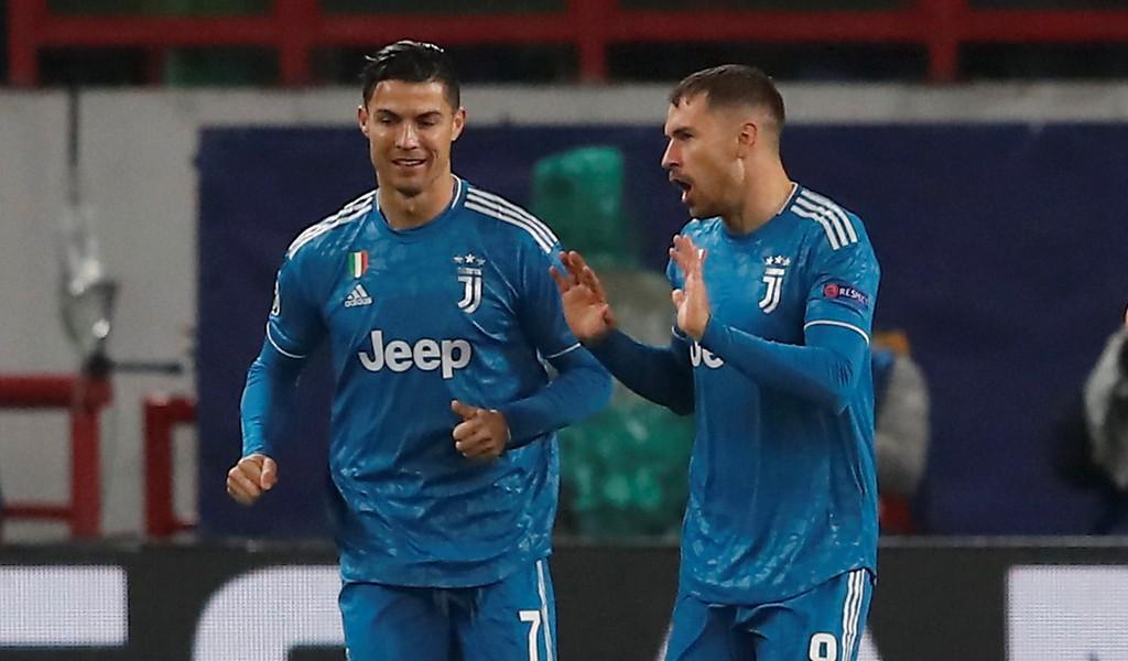 Ramsey đã xin lỗi Ronaldo về tình huống nhạy cảm này. Ảnh: Getty Images