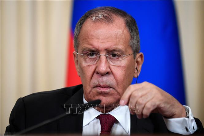 Ngoại trưởng Nga Sergey Lavrov tại một cuộc họp ở Moskva ngày 2-9-2019. Ảnh: AFP/TTXVN