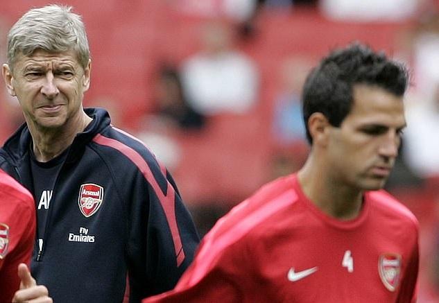 Wenger chỉ có thể đưa Fabregas về Arsenal