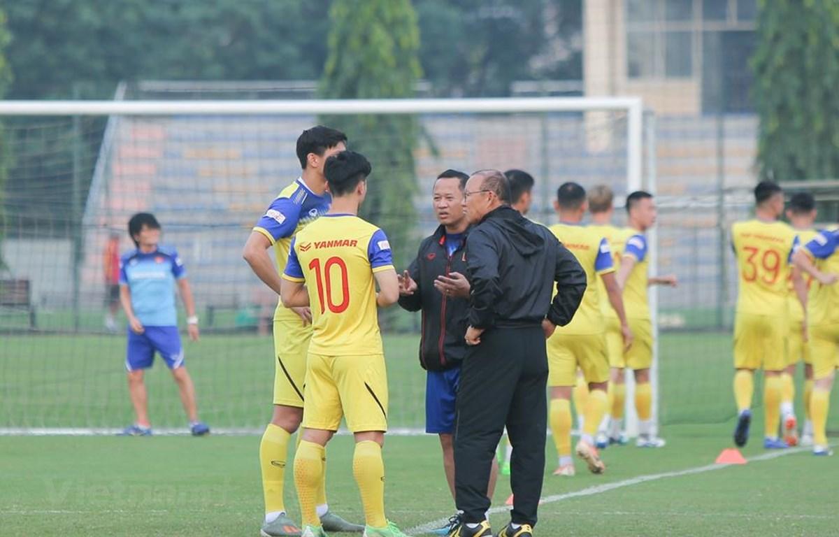 Đội tuyển Việt Nam giữ kín chiến thuật đối phó với UAE ở vòng loại World Cup 2022 tới.
