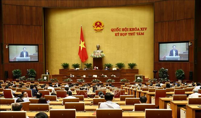 Quang cảnh phiên họp chiều 11-11-2019. Ảnh: Dương Giang/TTXVN