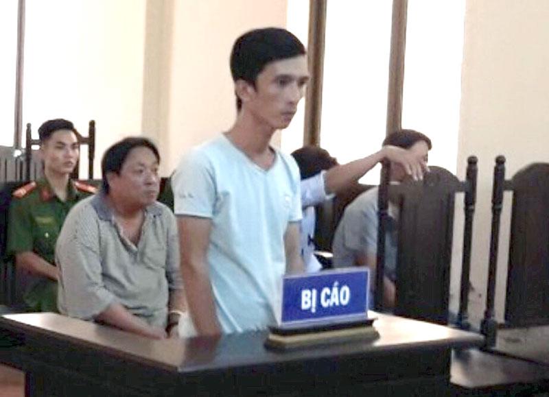 Bị cáo Nguyễn Chí Tâm tại phiên tòa hình sự sơ thẩm ngày 14-11-2019.