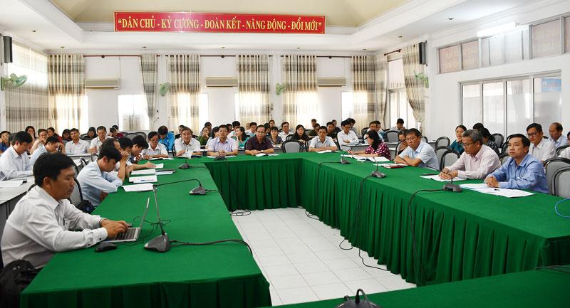 Các đại biểu dự tập huấn.