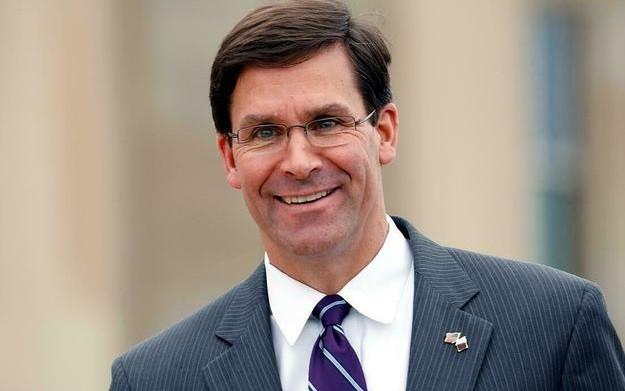 Bộ trưởng Mỹ Esper. (Ảnh: Reuters).