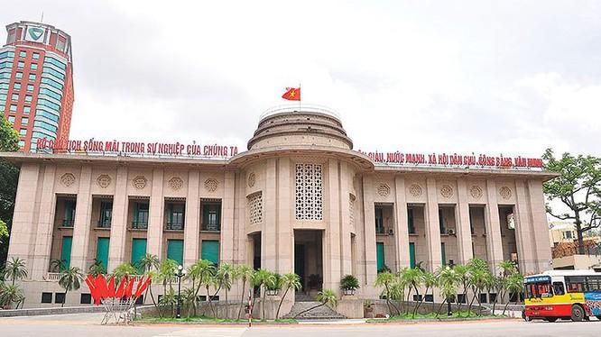 Trụ sở Ngân hàng Nhà nước Việt Nam. Ảnh: KT