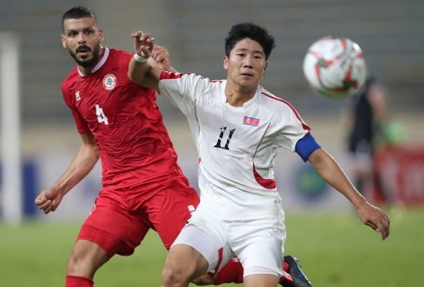 Lebanon và Triều Tiên đã có trận đấu bất phân thắng bại. Ảnh: Getty Images