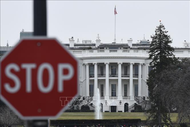 Dự luật chi tiêu trong ngắn hạn được thông qua giúp ngăn chặn Chính phủ Mỹ bị đóng cửa. Ảnh: THX/TTXVN