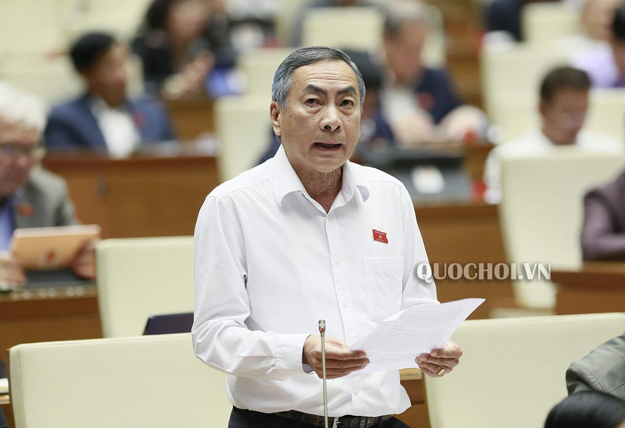 Đại biểu Phạm Văn Hòa – Đoàn ĐQBH tỉnh Đồng Tháp