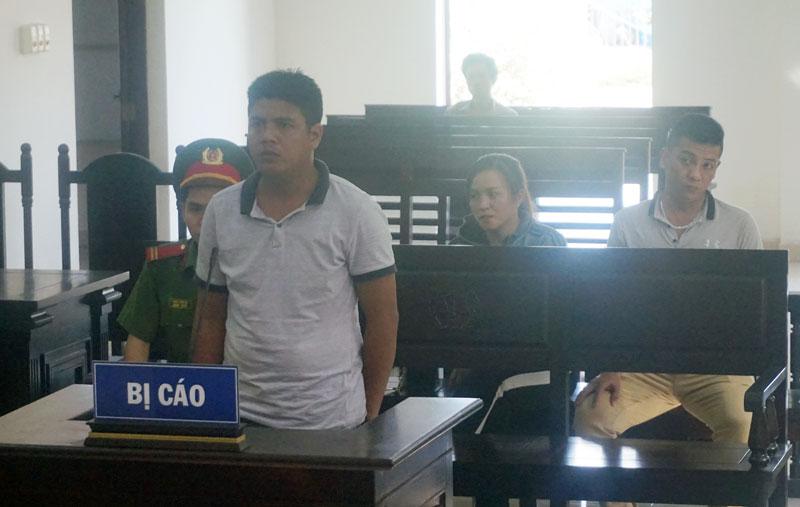 Phan Tấn Tài tại phiên tòa.