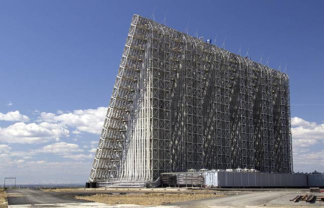 Hệ thống radar cảnh báo sớm Voronezh. Ảnh: TASS