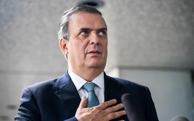 Ngoại trưởng Mexico Marcelo Ebrard. (Nguồn: Milenio)