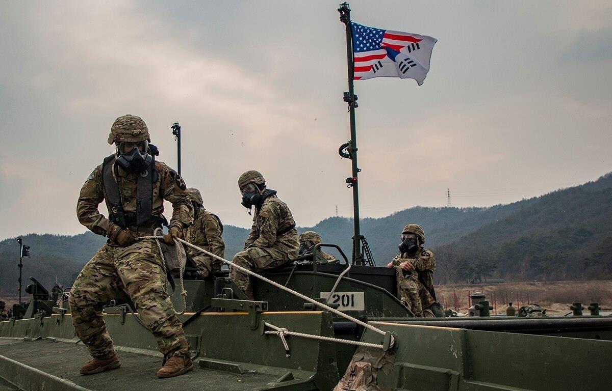 Binh sỹ Mỹ trong một cuộc tập trận chung với Hàn Quốc. (Nguồn: Army)