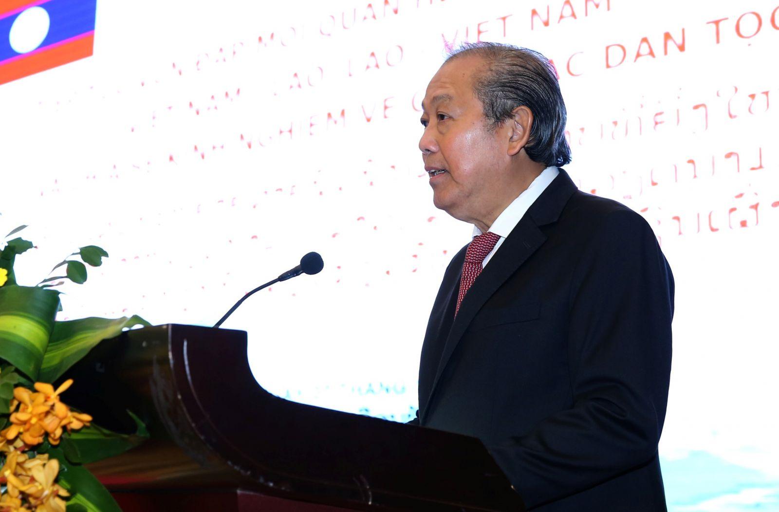 Phó Thủ tướng phát biểu tại hội thảo. Ảnh VGP/Lê Sơn