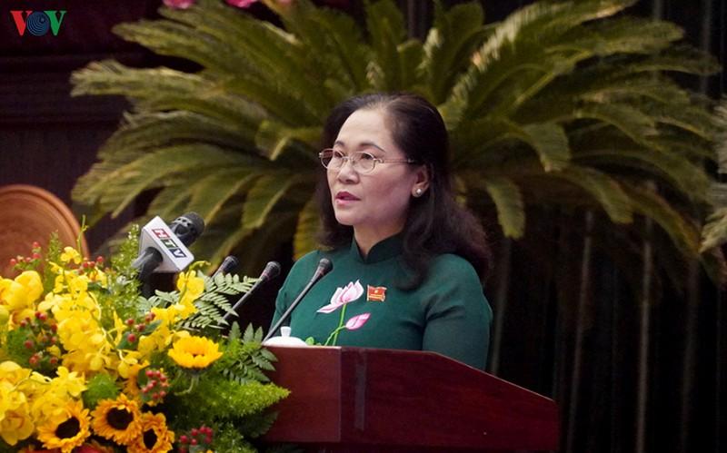 Bà Nguyễn Thị Lệ, Chủ tịch HĐND TPHCM.