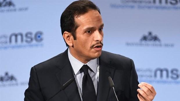 Ngoại trưởng Qatar Mohammed bin Abdulrahman al-Thani. (Nguồn: Reuters)