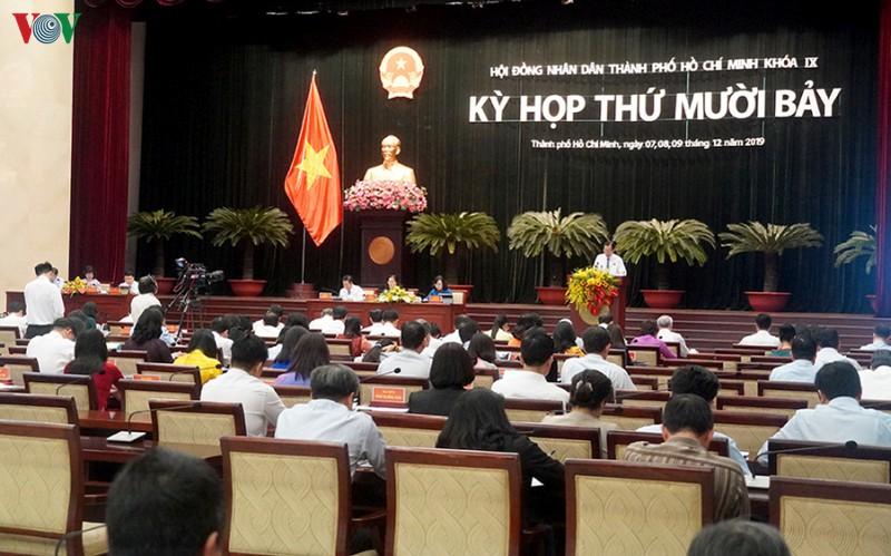 Kỳ họp thứ 17, HĐND TPHCM khóa 10.