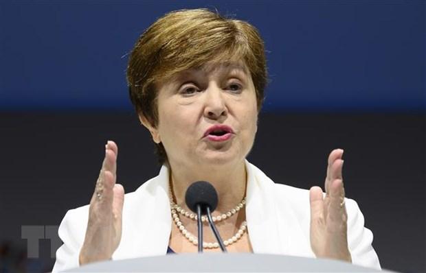 Tổng Giám đốc IMF - bà Kristalina Georgieva. (Nguồn: AFP/TTXVN)