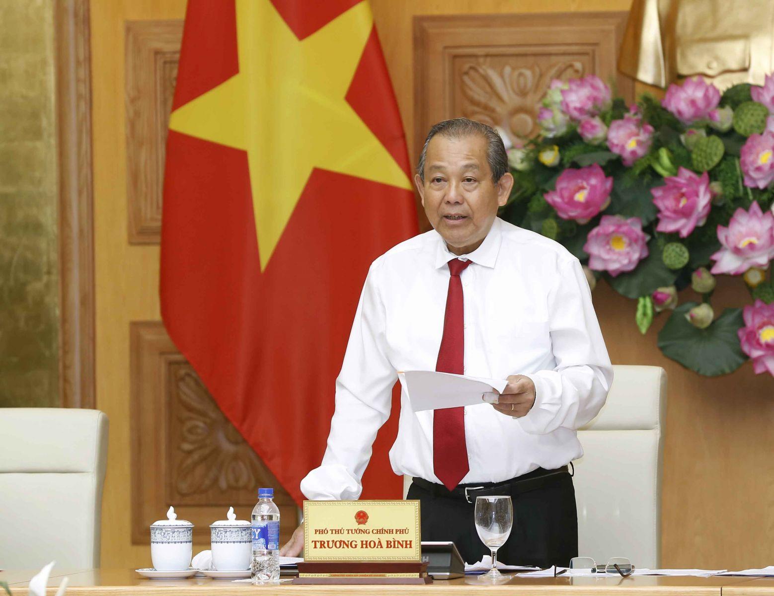 Phó Thủ tướng Trương Hòa Bình thăm chính thức Lào và Campuchia từ ngày 10 – 13-12-2019