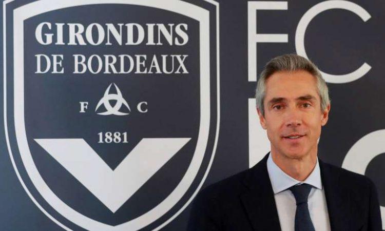 Paulo Sousa đang dẫn dắt Bordeaux