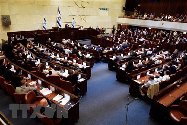Toàn cảnh một phiên họp Quốc hội Israel ở Jerusalem. Ảnh: THX/TTXVN