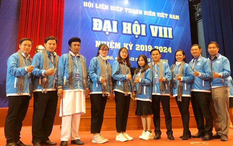 Đại biểu thanh niên tỉnh tham dự đại hội.