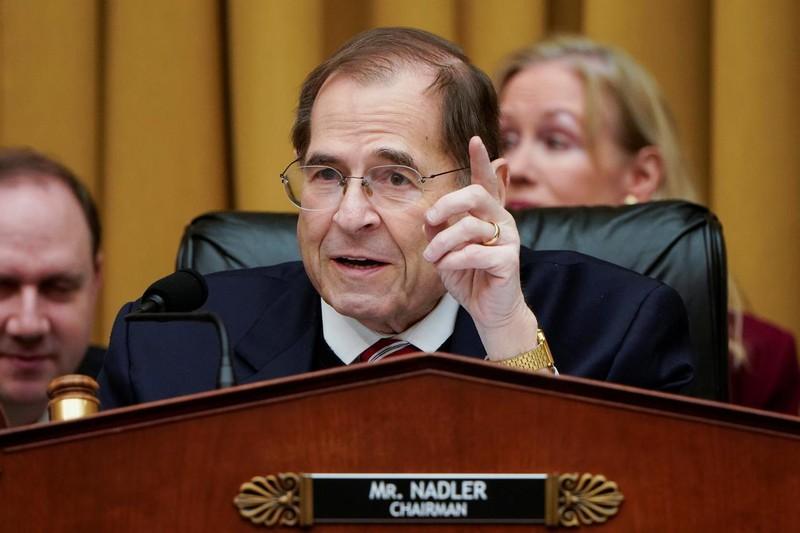 Chủ tịch Ủy ban Tư pháp Hạ viện Jerry Nadler. Ảnh: Reuters