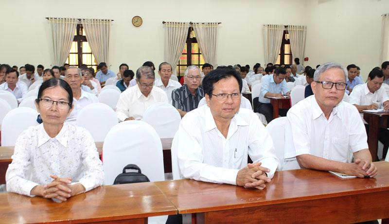 Đại biểu dự tập huấn ngày 13-12-2019.