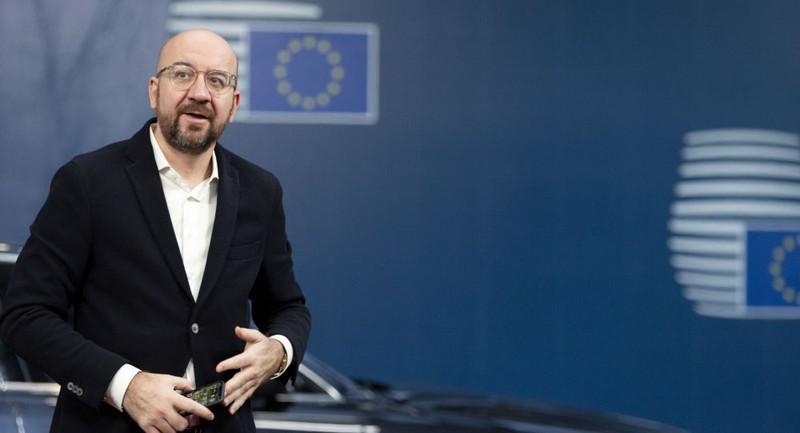 Chủ tịch Hội đồng châu Âu Charles Michel. Ảnh: AP