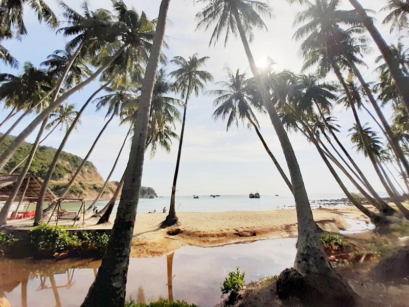 Một góc đảo Nam Du (Kiên Giang).
