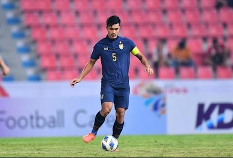 Đội trưởng Shinnaphat Leeaoh tự tin trước trận đấu với Iraq