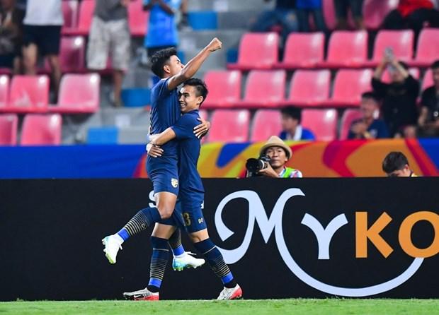 U23 Thái Lan giành vé vào tứ kết U23 châu Á 2020.