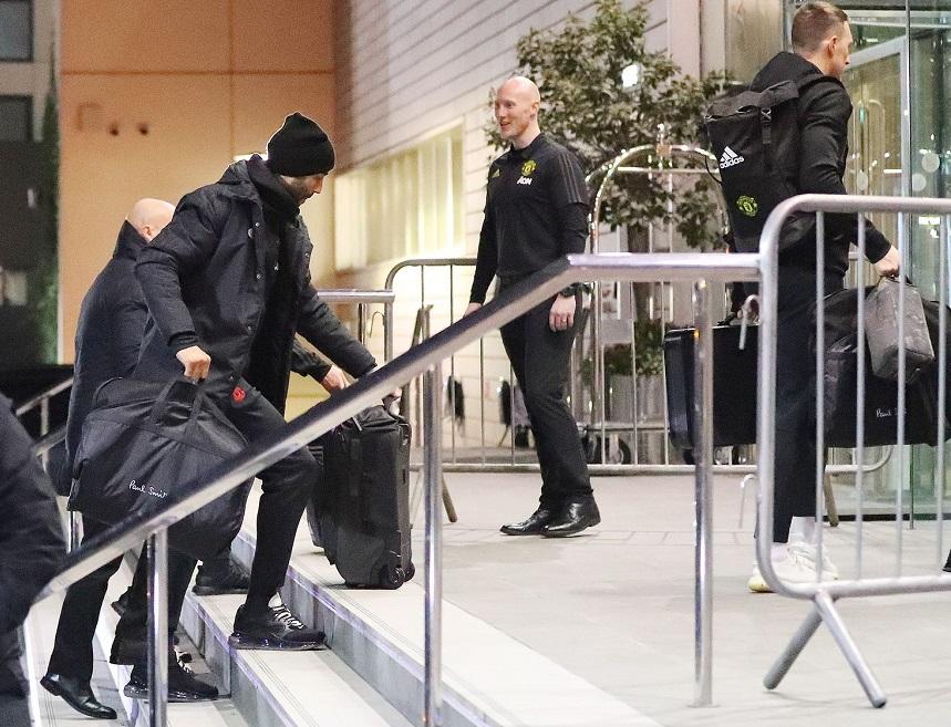 Rashford không đến khách sạn trước trận đấu