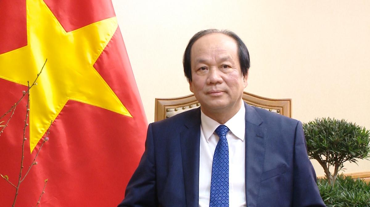 Bộ trưởng, Chủ nhiệm VPCP Mai Tiến Dũng. Ảnh: VGP/Quang Thương