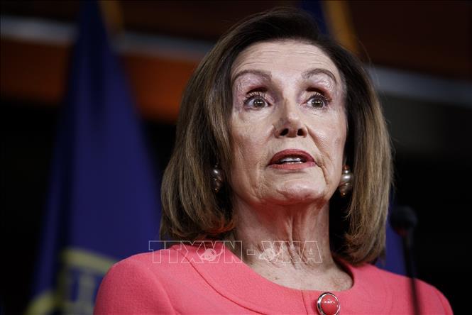 Chủ tịch Hạ viện Mỹ Nancy Pelosi. Ảnh: THX/ TTXVN