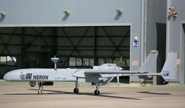 Máy bay Heron MK II. (Nguồn: IAI)