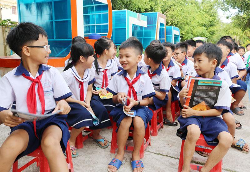 Học sinh trong tỉnh tiếp tục đi học bình thường