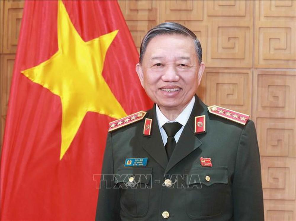 Đại tướng Tô Lâm, Ủy viên Bộ Chính trị, Bộ trưởng Bộ Công an. Ảnh: Doãn Tấn/TTXVN