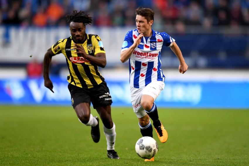 Heerenveen có trận thua thứ 6 liên tiếp tại giải VĐQG Hà Lan