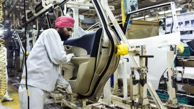 Ấn Độ đã vượt qua Anh và Pháp để thành nền kinh tế lớn thứ 5 thế giới. (Nguồn: CNBC)