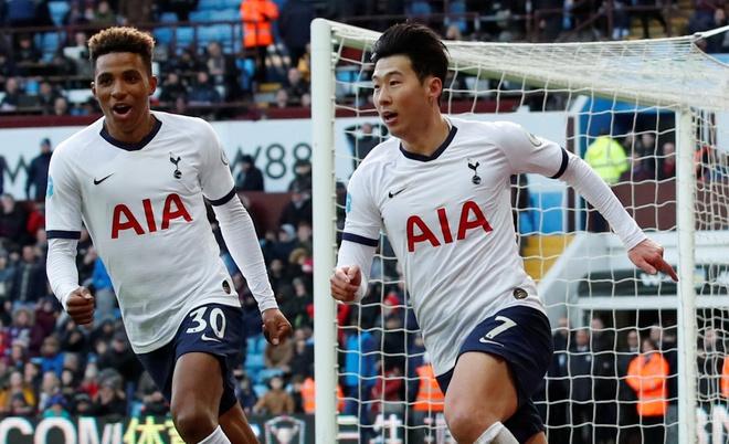 Tottenham liên tục giành những điểm số quan trọng nhờ màn trình diễn tốt của Son Heung-min. Ảnh: Reuters.